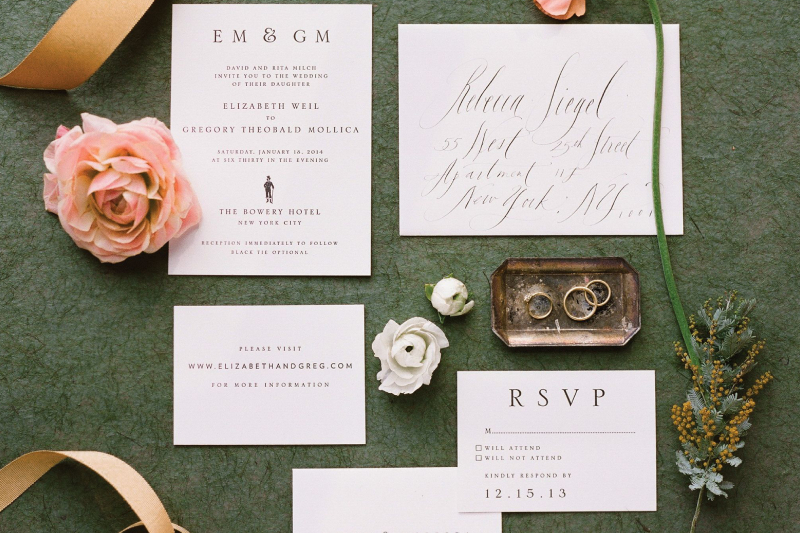 Etiquette For Wedding Invitation